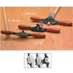 Veritas® Round Spokeshave with PM-V11 Blade