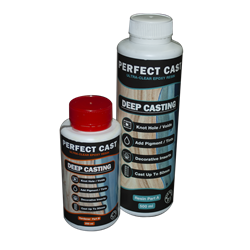 Perfect Cast 2 Part Resin and Hardener - Deep - 750ml Kit