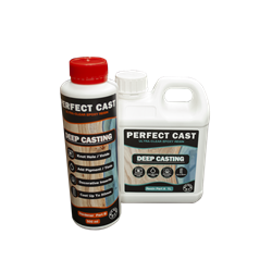 Perfect Cast 2 Part Resin and Hardener - Deep - 1.5 litre Kit