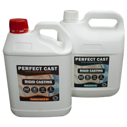 Perfect Cast 2 Part Resin and Hardener - Rigid - 6 litre Kit