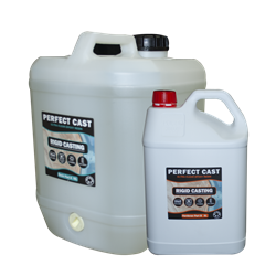 Perfect Cast 2 Part Resin and Hardener - Rigid - 15 litre Kit