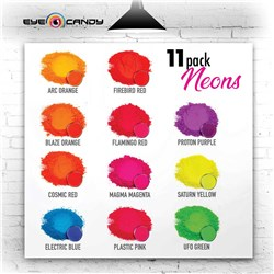 Eye Candy Neon Series Box Set 11 Colours X 5g