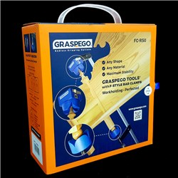 Graspego Clamp Heads for F-Clamps and Hold Downs - 2 clamp heads