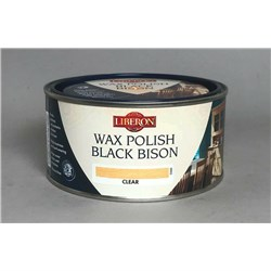 Liberon Wax Polish Black Bison - 500ml - Clear