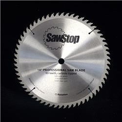 "Sawstop Standard 60 Tooth 10"" Replacement Blade"