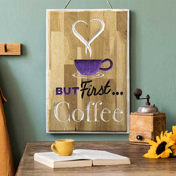 Coffee Sign Project