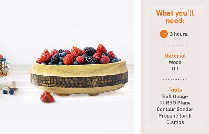 How to make a berry bowl
