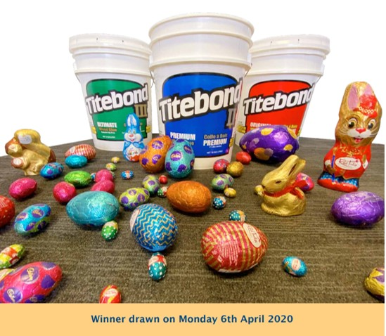 Titebond Carbatec Easter Egg Competition
