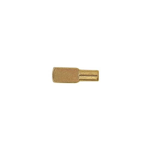 5mm Brass Plated Shelf Pins 20 Pack