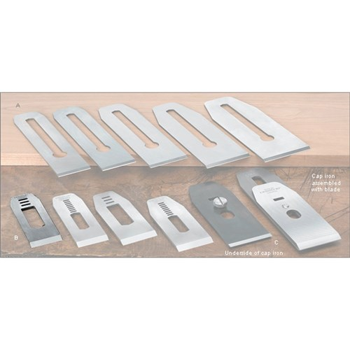 Veritas® Blades made for Stanley/Record Block Planes - 35mm with 5/8