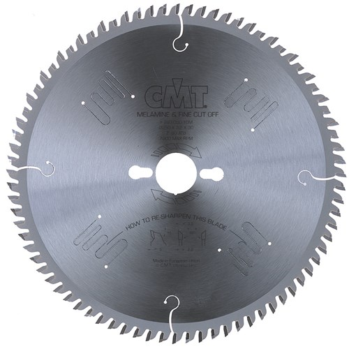 CMT Industrial Fine Cut-Off Melamine Blade - 300mm - 96 Tooth
