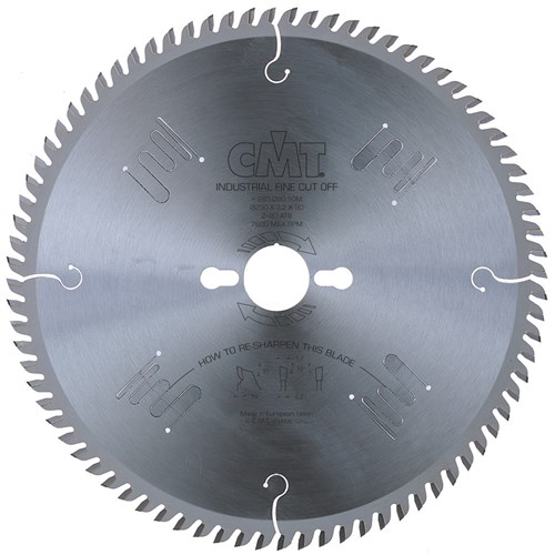 CMT Industrial Finishing Saw Blade - 350mm - 108 Tooth