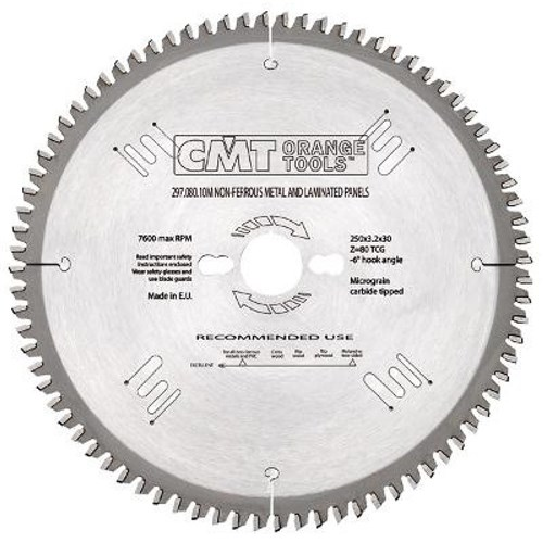 CMT Industrial Non-Ferrous Metal and Laminated Panel Blade - 230mm