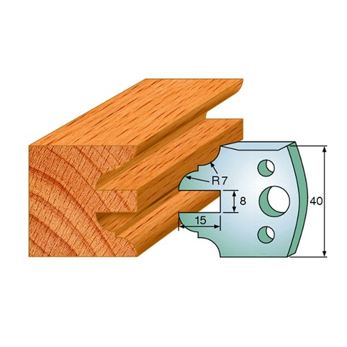 CMT Spindle Moulder Profile Knives - 40mm - Joinery