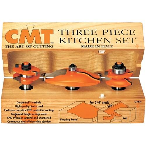 Cmt 3 Piece Ogee Kitchen Set