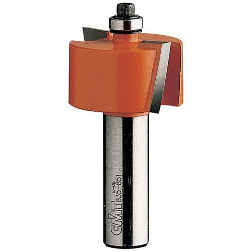"CMT Rabbeting Router Bit - 9.5mm x 12.7mm - 1/4"" Shank"