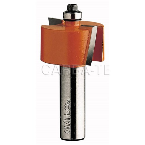 "CMT Rabbeting Router Bit - 12.7mm x 12.7mm - 1/4"" Shank"