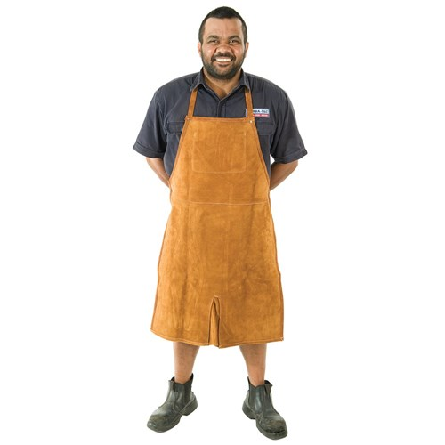 Deluxe Leather Shop Apron