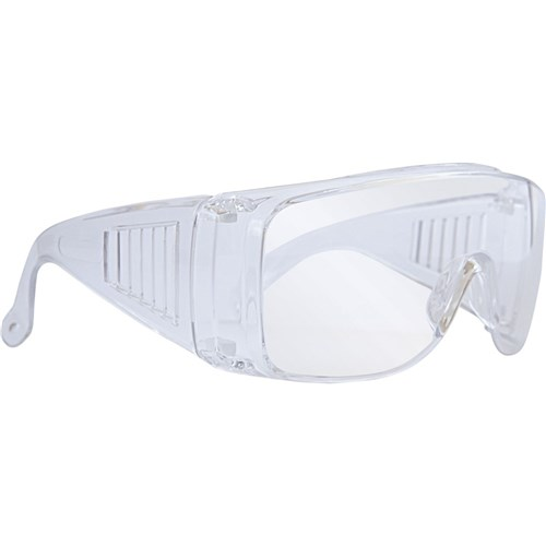 Alpha Safety Glasses - Clear Uncoated Lens