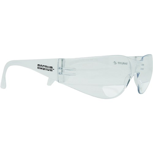 Magnum Safety Glasses - Bifocal Clear Lens (+1.50)
