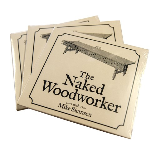 """The Naked Woodworker"" DVD By Mike Siemsen"