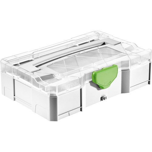 Festool Systainer Mini T-Loc  with Transparent Lid