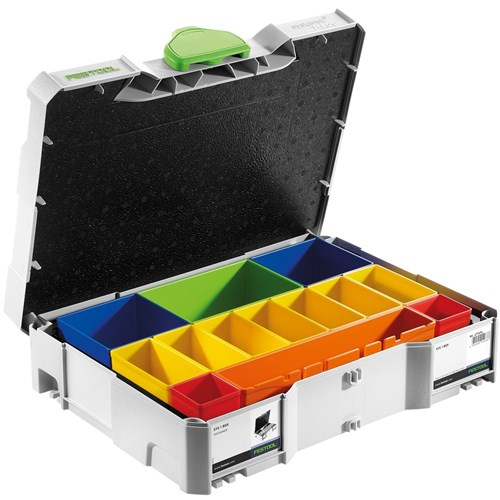 Festool Systainer SYS 1 T-Loc Assortment Storage Box