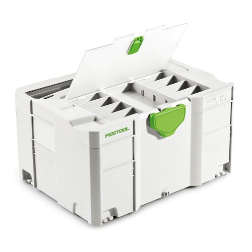 Festool Systainer SYS 3 T-Loc Storage Box with Lid