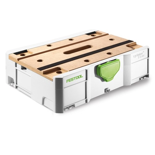 Festool Systainer SYS 1 T-Loc with MFT MDF Lid