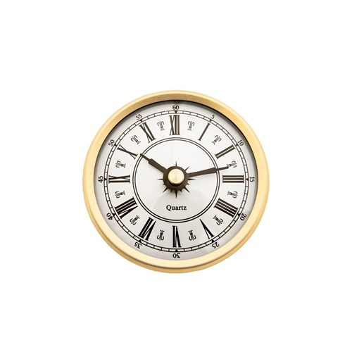 70mm Clock Insert with Roman Numerals