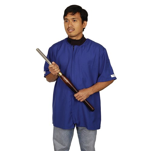 Woodturning Jackets with Short Sleeves - Small