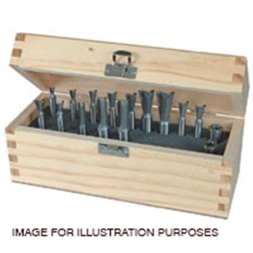 Leigh HSS Finger Joint Bit Set - For F18/F24
