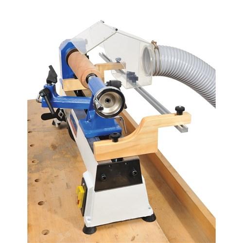 Adjustable Lathe Dust Extraction Hood | Accessories - Carbatec