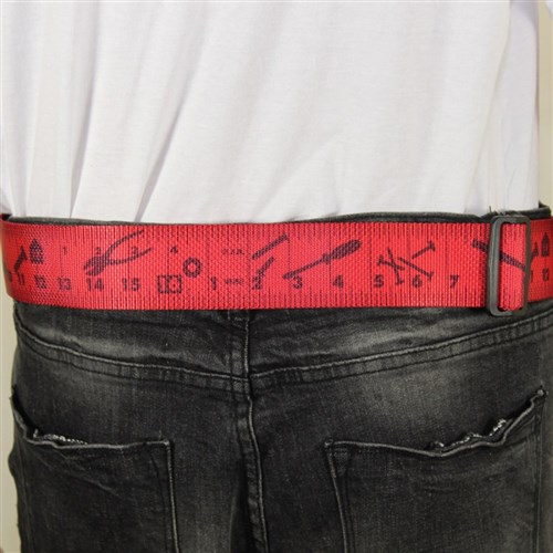 Construction Belt - Red