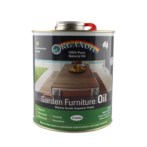 Organoil Garden Furniture Oil - 2ltr
