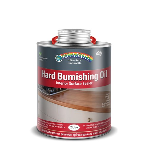 Organoil Hard Burnishing Oil - 2ltr