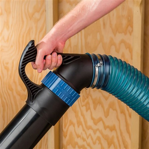 "Rockler Dust Right 4"" Quick Change Handle"