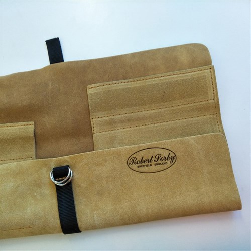 Robert Sorby Six Piece Leather Tool Roll