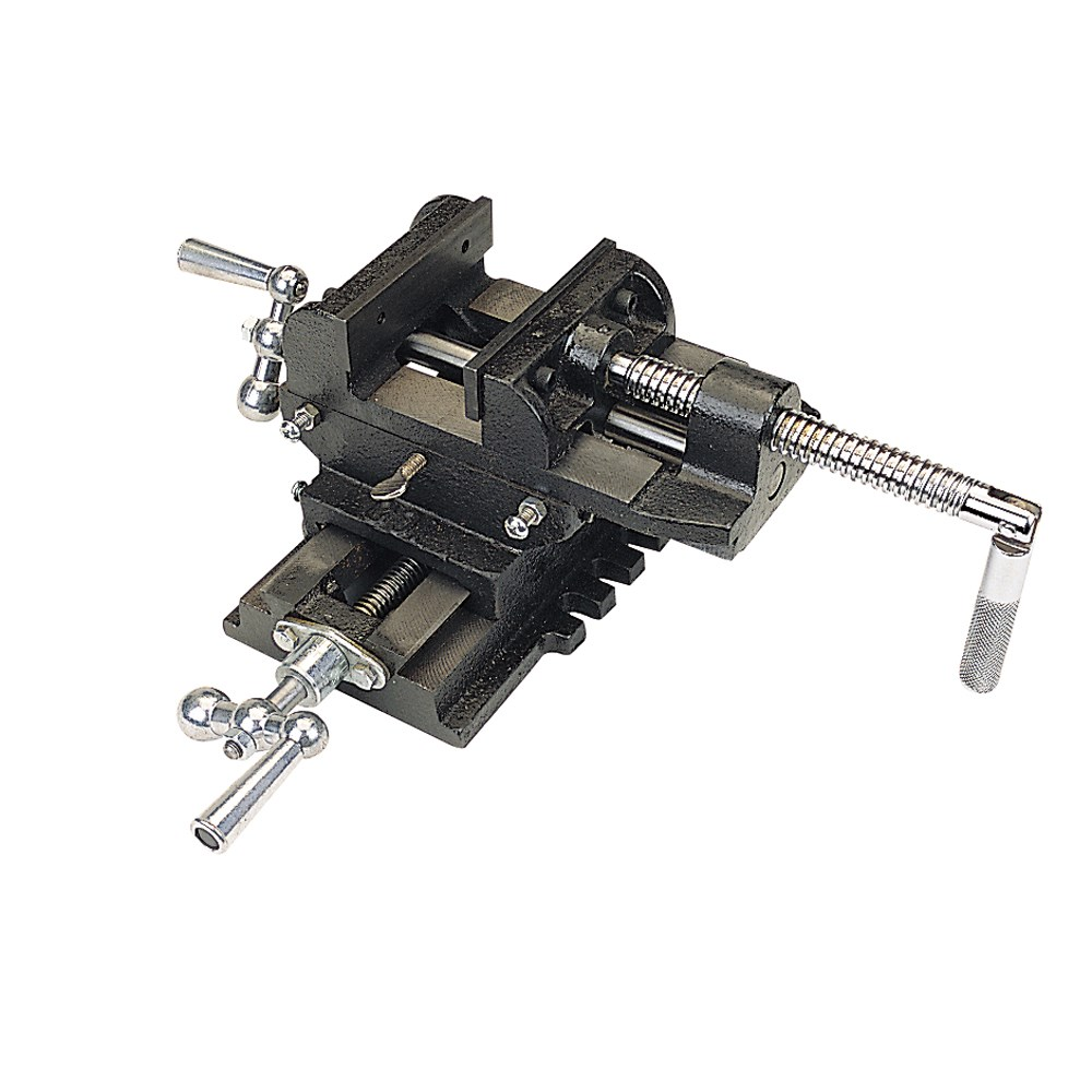 "4"" Cross Slide Vise 