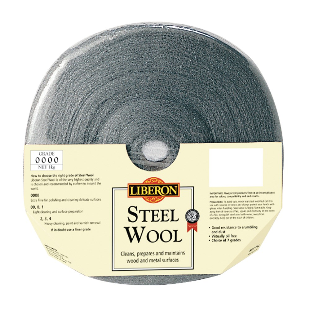 0000 Steel Wool Wax