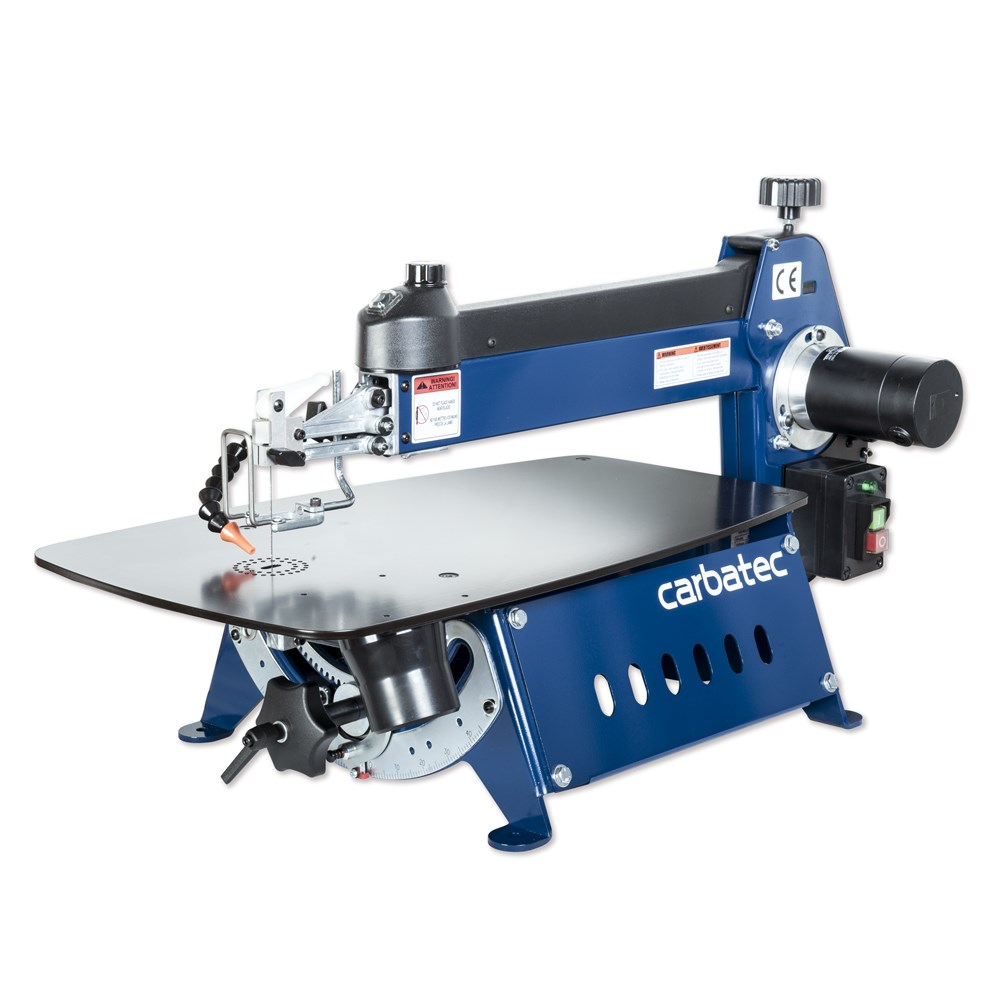 """Carbatec 21"""" Variable Speed Scroll Saw 