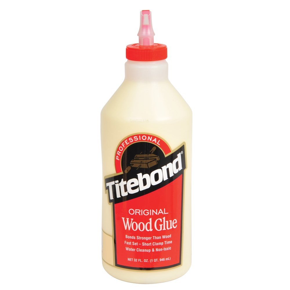 titebond original wood glue 946ml wood glue carbatec. Black Bedroom Furniture Sets. Home Design Ideas