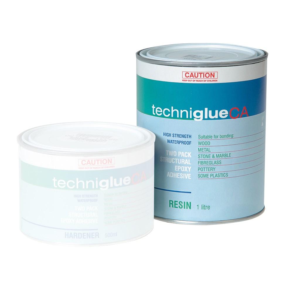 techniglue 500ml resin epoxy glue carbatec. Black Bedroom Furniture Sets. Home Design Ideas