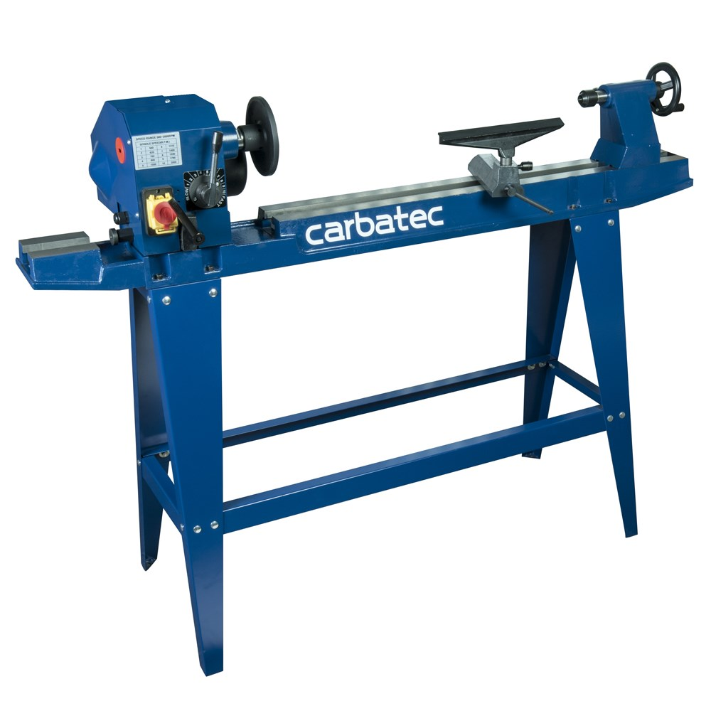 Carbatec Economy 900mm Variable Speed Wood Lathe Lathes
